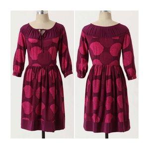 Anthropologie Girls From Savoy Bouquet Toss Dress